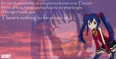 Wendy's quote~Fairy Tail by evitacarla on DeviantArt