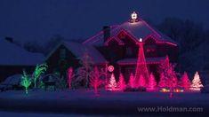 The Amazing Grace Christmas House - Holdman Christmas