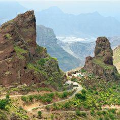 Roque de #Bentayga, #GranCanaria .#IslasCanarias