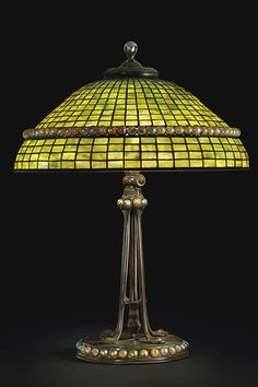 Leaded Glass  Year: 1910   Dimensions: 29 inches high, 22 inches indiameter.
