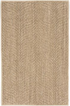 #DashandAlbert Wave Natural Sisal Woven Rug. Catch the all-natural wave with this substantial and stylish woven sisal rug, made from a plant fiber and perfect for adding a rustic touch to high traffic areas.