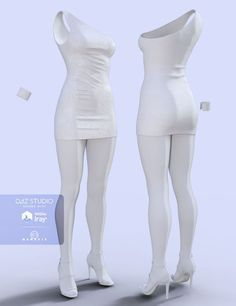 H&C Club Dress C for Genesis 3 Female(s) is a clothing, clubwear dress, footwear, accessories for Genesis 3 Female for Daz Studio or Poser created by IH Kang. Model Outfits, Teen Fashion Outfits, Logo Pdf, Clubwear Dresses, Genesis 3, Modelos 3d, Virtual Fashion, Drawing Clothes, Character Outfits