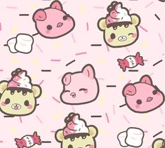 Yummiibear Creamiicandy Puni Maru Backgrounds for your computer and phone! -