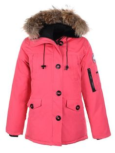 Canada Goose Montebello Parka Womens Pink ......Im assuming this has to be the warmest jacket in the world...I hate that I want it