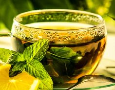 Herbal Mint Honey Tea