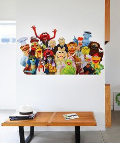 The Muppets like this bench!  Nelson Bench, designed by George Nelson, 1946. Manufactured by Vitra.