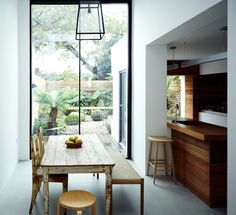 Dwell - This Kitchen Is as Cozy as Your Favorite Coffee Shop and That's Exactly the Idea