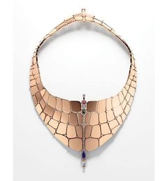 The crocodile skin-inspired Niloticus necklace by Pierre Hardy for Hermès is our jewelry obsession of the day. Find out more at Vogue.fr in English.