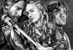 Lannister Family Portrait by LisaKellerer on DeviantArt