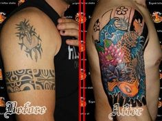 cover up tattoo 28 Graceful Cover Up Tattoo Ideas
