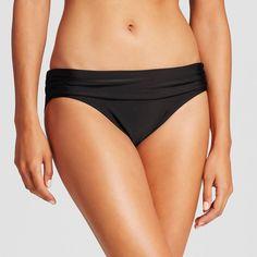 Women's Foldover Swim Hipster Bikini Bottom -