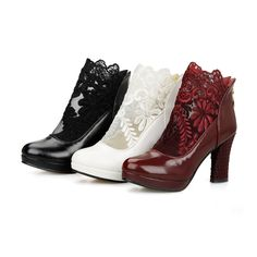 Cheap heel platform boots, Buy Quality boot wedge heel directly from China heel less high heels Suppliers: Big size 32-43 high quality hot sale new fashion  women spring solid  high heels ankle  riding boots 3 colorsUSD 27.99-3