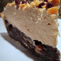 Mile High Peanut Butter Pie More
