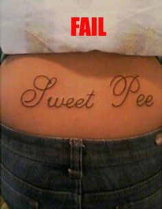 Tattoo Fail funny picture