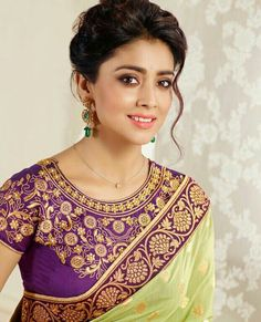 Bride in marathi wedding saree wearing traditional hair and makeup as a marathi bride for her big day Marathi Bride, Marathi Wedding, Saree Wedding, Wedding Bride, Bridal Sarees, Wedding Gold, Post Wedding, Spring Wedding, South Indian Bride