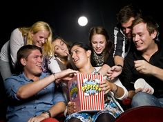 Eating Healthy: At The Movies