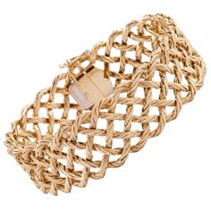 Shop diamond and gold chain bracelets and other vintage and antique bracelets from the world's best jewelry dealers. Real Gold Jewelry, Fine Jewelry, Gold Jewellery, Art Nouveau Jewelry, Bracelets For Men, Chain Bracelets, Diamond Bracelets, Diamond Rings, Gold Fashion