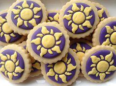 Enrolados (Cookie Design) Tags: sol cookies rapunzel biscoitosdecorados
