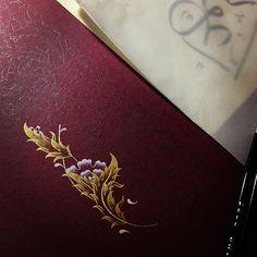 Start to painting Illumination Art, Arabic Pattern, Artist Bio, Turkish Art, Ornaments Design, Sketchbook Inspiration, Islamic Calligraphy, Illuminated Manuscript, Islamic Art
