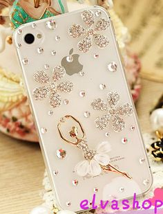 dance girl iphone 4 case,flower iphone 5 case,bling iphone 4s case,clear iphone case ,samsung galaxy s3 case, samsung galaxy s4 case on Etsy, $21.97 CAD