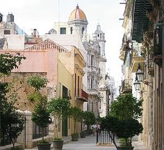Old Havana - this part has been nicely restored