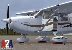 A2A C172 Trainer and 2 Newbies from Orbx for Your Flight Simming Weekend