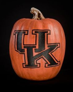 Kentucky Wildcats UK Fall Resin Pumpkin Decor by Cumberland Designs. $49.95. Unisex Adults. 12 Inches High. Debossed Logo-Reusable Pumpkin. Officially Licensed Kentucky Wildcats Resin Pumpkin. Hard Resin. Kentucky Wildcats pumpkin. This Wildcats reusable Halloween pumpkin is made of hand-finished resin. The pumpkin includes a debossed logo, which gives the logo a branded appearance. The versatile material allows the pumpkin to be used indoors or outdoors. Pumpki...