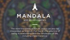 Raise Your Vibration: Mandala with @morningaltars – Spiritual Gangster