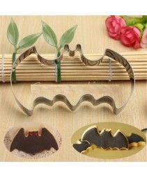 Cortador de biscoito forma de morcego R$ 7,99