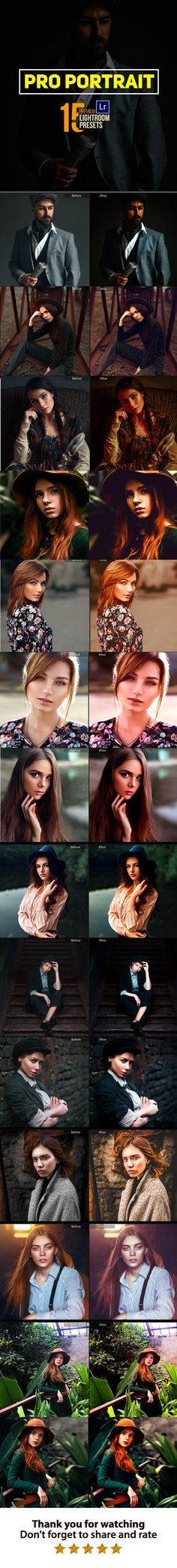 Buy 15 Pro Portrait Retouching Lightroom Presets by MukundiDigital on GraphicRiver. About 15 Pro Portrait Retouching Looking for a way to add a pop of freshness and intrigue to your images? Professional Lightroom Presets, Lightroom 4, Portrait Retouch, Portrait Photo, Photo Retouching, Photo Editing, Photoshop Video, Adobe Photoshop, Wedding Presets
