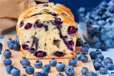 ciasto jogurtowe bez tłuszczu My Favorite Food, Favorite Recipes, My Favorite Things, Blueberry, Muffin, Food And Drink, Sweets, Baking, Breakfast