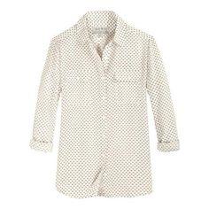 The Debarn Blouse | Jack Wills (worn when shopping 10.25.13)