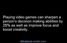 Take that anti-gamers. XD