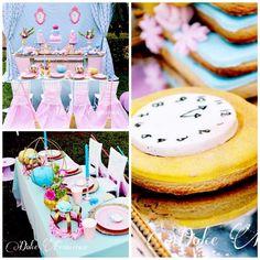Cinderella Birthday Party via Kara's Party Ideas
