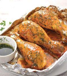 Pollo glaseado al limon Una delicia lista en slo 20 minutos!