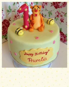 #1stbirthday #tigger # winniethepooh