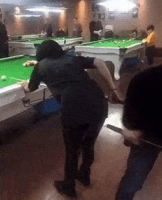 Queue de billard