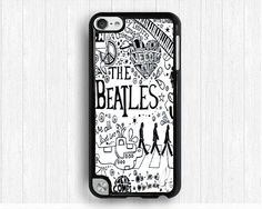 the beatles Ipod touch 4 case,letter iPod touch 5 case, HIP-HOP IPod 5 case,Graffiti-art Ipod 4 case,unique touch 4 case,touch 5 case on Etsy, $9.99