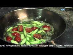 Italský šéfkuchař Lucque ukázal, jak se vaří noky s chřestovo-rajčatovou...