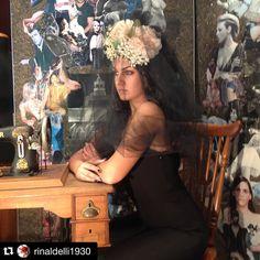 #Repost @rinaldelli1930  Prove di acconciature nel mio show-room  Fotografie di @lorefras  Hairdresser @annamadonia  Make-up @lisa_toppi  #moda #fashion #modella #model #instagood #instafun #igers #igersoftheday #instalike #Livorno #Italia #italy #artigianato #madeinitaly #cappello #cappelli #modisteria #igerslivorno #igerstuscany #tuscanypeople