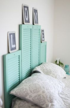 4 Effortless Headboards You Can Adapt To Your Personality #headboards #diyinspo #bedroomdecor #onabudget