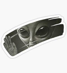 Pegatina Extraterrestre