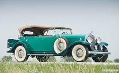 1931 Cadillac V-12 Five-Passenger Phaeton by Fleetwood