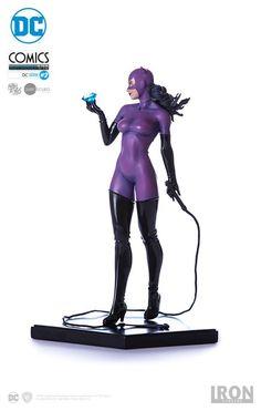 Estátua Catwoman Art Scale 110 - DC Comics Série 2 by Ivan Reis - 18 cm - Iron Studios