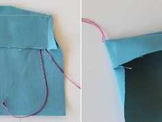 Snippets: Turning Corners on Delicate Fabrics - a brilliant tip that I really must remember!
