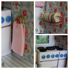 Tales from a happy house.: A Shoebox Kitchen for a Little Mouse