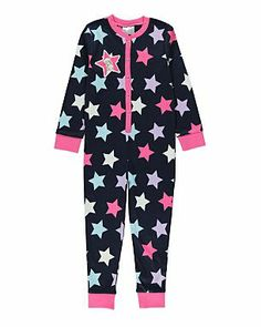 Tatty Teddy Star Print Onesie | Girls | George at ASDA Tatty Teddy, Asda, Star Print, Pjs, Nightwear, Lounge Wear, Onesies, Pajama Pants, Stars