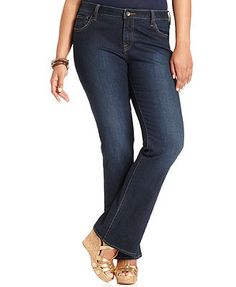 Lucky Brand Jeans Plus Size Jeans, Ginger Bootcut, Randelman Wash