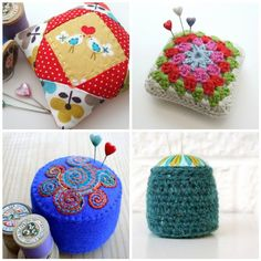 2011 - pincushions by Very Berry Handmade, via Flickr
