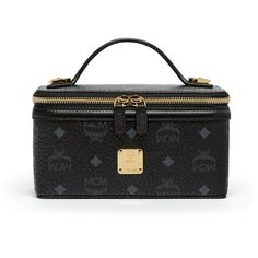 MCM Rockstar Vanity Case (8,815 MXN) ❤ liked on Polyvore featuring beauty products, beauty accessories, bags & cases and mcm